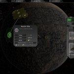 City tooltip on a barren planet